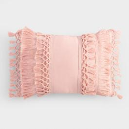 worldmarket_blush_fringe_pillow