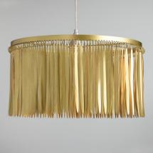 worldmarket_feathered_brass_drum_pendant
