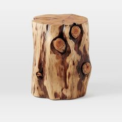 west_elm_natural_tree_stump_side_table