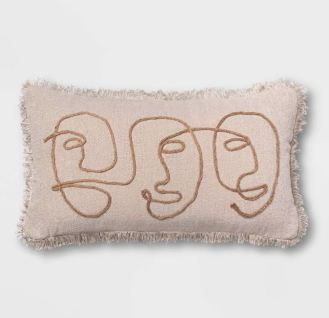 target_faces_jute_embroidered_pillow