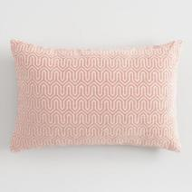 worldmarket_blush_geometric_pillow